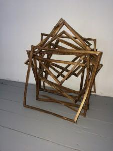 Sjoerd Buisman - werk in atelier 3