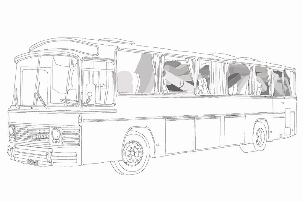 bus klein