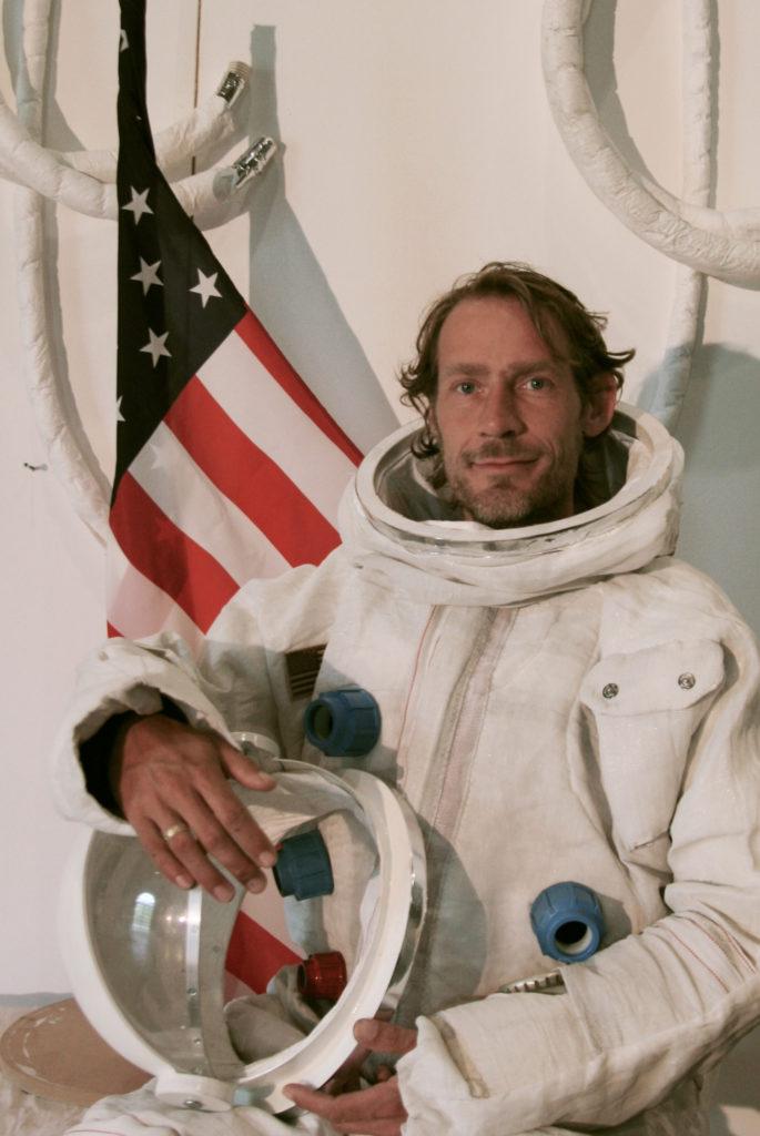 Apollo Block 1 A1C ruimtepak met Johannes Sterk