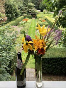 Verse bloemen uit het Amstelpark