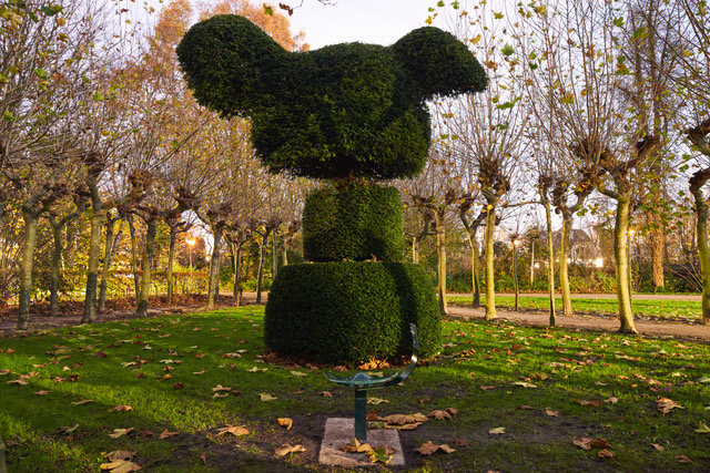 Luisterplek voor Floriade Fluisteringen in Amstelpark, foto Roel Backaert