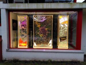 RADIX window exhibition at Rietveldhuis